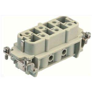 Part No. 1-1104205-1 Receptacle - 6 Pin at 35 Amp